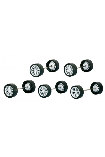 Herpa 053365 Набор колёс для Audi A5, Audi A6, Audi A7, Audi R8, Audi Q3