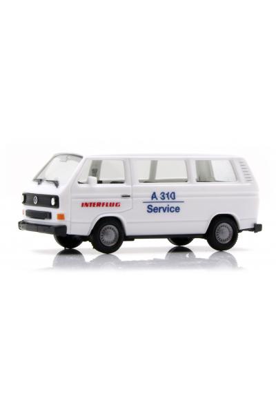 Herpa 094658 Автомобиль VW T3 Bus Interflug 1/87