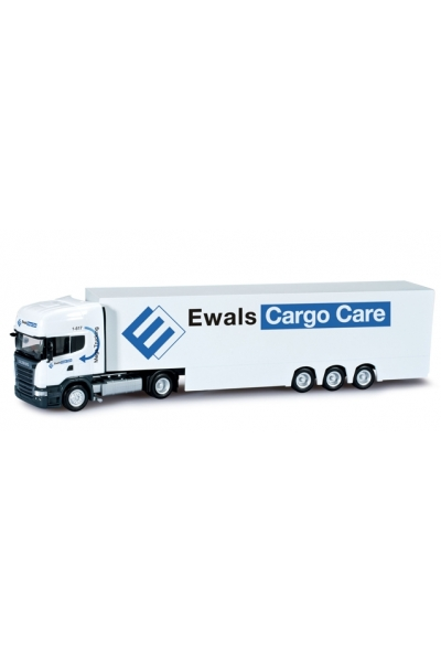 "Herpa 303187 Scania R TL ""Ewals Cargo Care"" (NL)"
