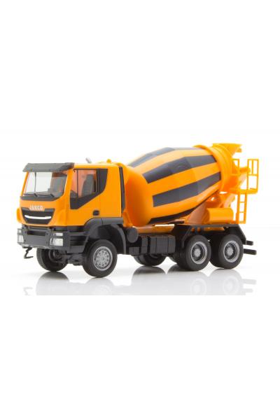 Herpa 310000 Автомобиль Iveco Trakker 6x6 бетоносмеситель 1/87