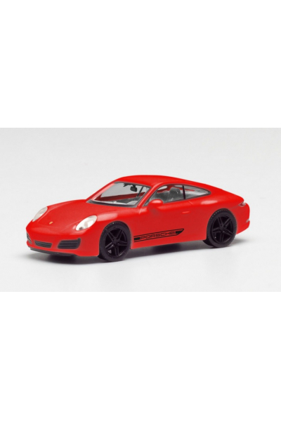 Herpa 420563 Автомобиль Porsche 911 (992) Carrera4 1/87