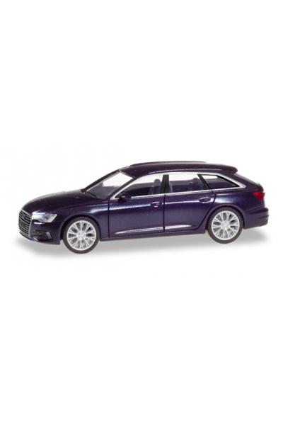 Herpa 430647-002 Автомобиль Audi A6 Avant 1/87