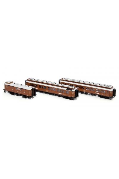 H44014 Набор пассажирских вагонов (1) CIWL Wien-Nizza-Cannes Express Epoche I 1/87