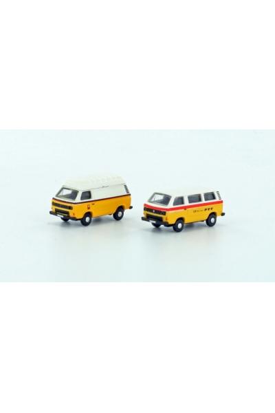 LC 4315 Набор автомобилей VW T3 2er Set PTT Epoche IV 1/160