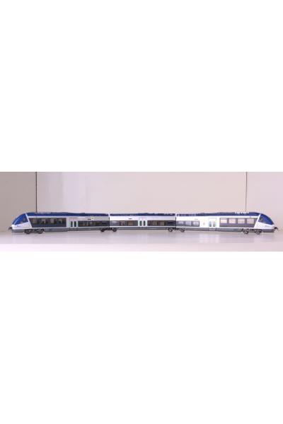 LSM 10078 Дизельпоезд X 76600 AGC SNCF Epoche V-VI 1/87