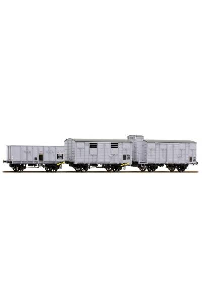 LSM 30272 Набор грузовых вагонов OCEM SNCF Epoche II 1/87