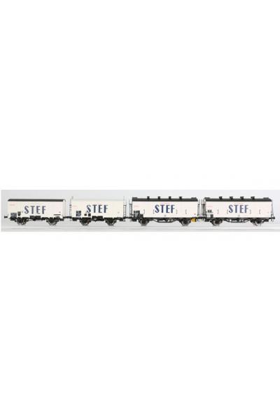 LSM 30396 Набор вагонов OCEM 19/29 SNCF Epoche III 1/87