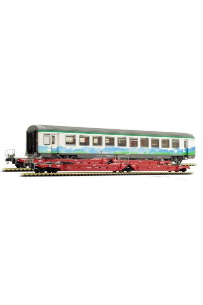 LSM 30409 Набор вагонов VTU+Sdmrss+Sdmrss Ferroviare Alpine AFA SNCF Epoche V 1/87