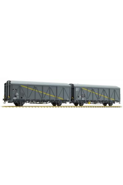 LSM 30652 Набор вагонов 2шт EVS MECAMODERN/KAOLIN SNCF Epoche V 1/87