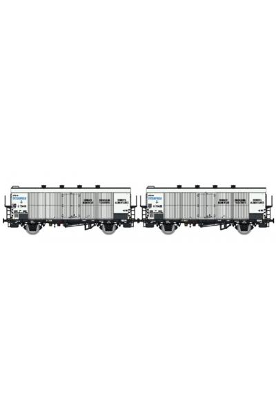LSM 37157 Набор вагонов Icefs INTERFRIGO SBB Epoche III 1/87