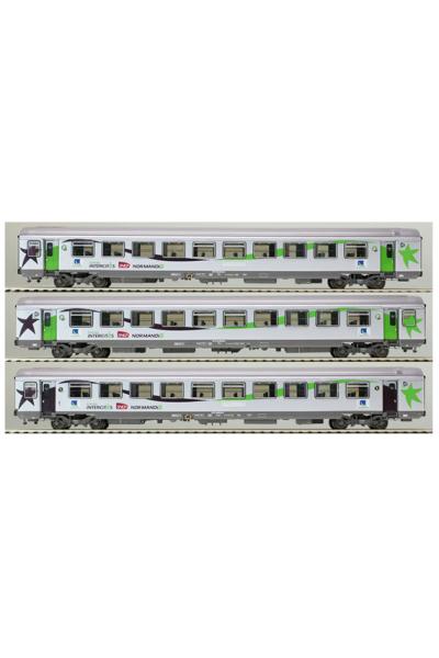LSM 40291 Набор вагонов VTU/VU SNCF Epoche V 1/87