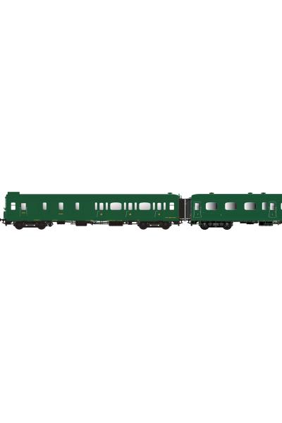 LSM 40320 Набор вагонов Express Nord C5d+A7+B9 SNCF Epoche II 1/87