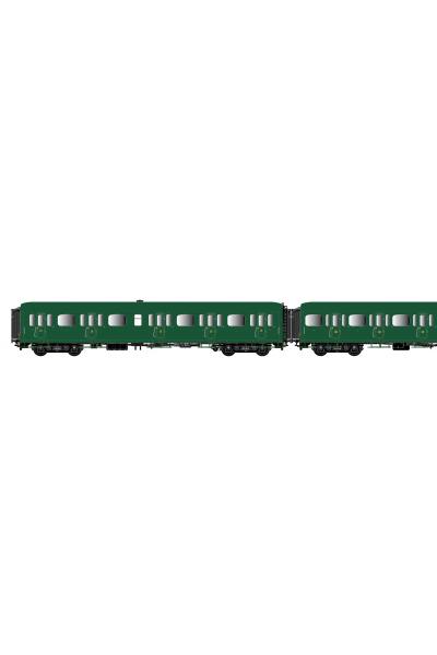 LSM 40322 Набор вагонов Express Nord A3B4+B9+C11 SNCF Epoche II 1/87