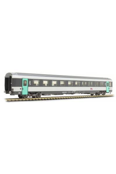 LSM 40604 Вагон пассажирский VTU Corail+ B10tu SNCF Epoche V-VI 1/87