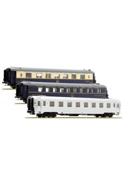 LS Models 41102 Набор вагонов Mistral 56 Paris-Nizza SNCF Epoche IIIb 1/87