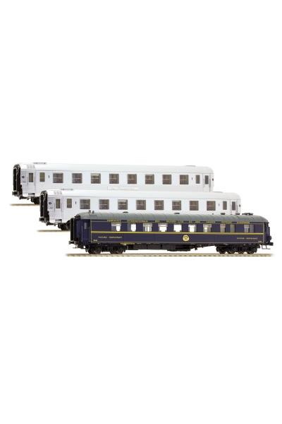 LSM 41103 Набор пассажирских вагонов Mistral 56 Paris-Lyon SNCF Epoche III 1/87