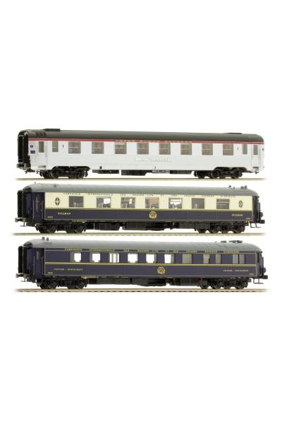 LS Models 41106 Набор вагонов Mistral 56 Paris-Nizza SNCF Epoche IIIc 1/87