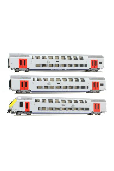 LSM 43013 Набор вагонов Type M6 SNCB Epoche V 1/87