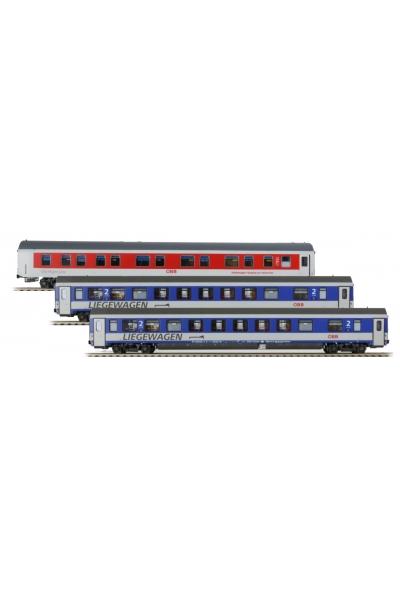 LSM 47152 Набор пассажирских вагонов OBB Epoche VI 1/87
