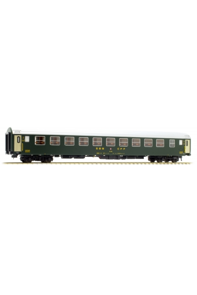 LSM 47321 Вагон пассажирский Bc SBB Epoche III 1/87