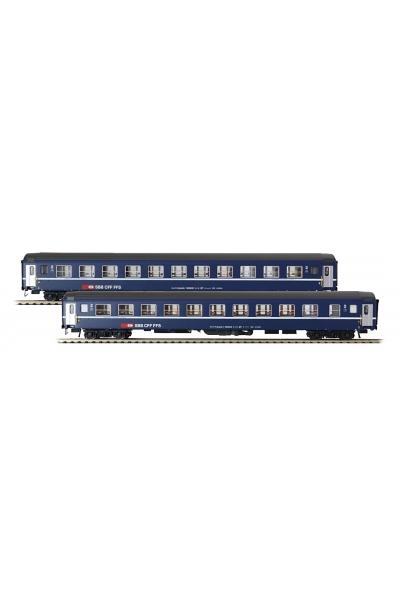 LSM 47323 Набор пассажирских вагонов Bcm SBB Epoche V 1/87