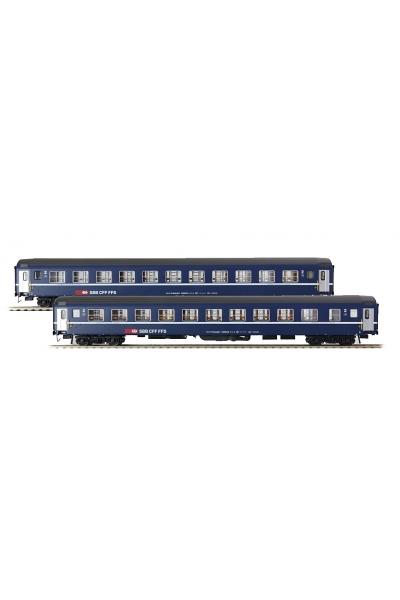 LSM 47324 Набор пассажирских вагонов Bcm SBB Epoche V 1/87