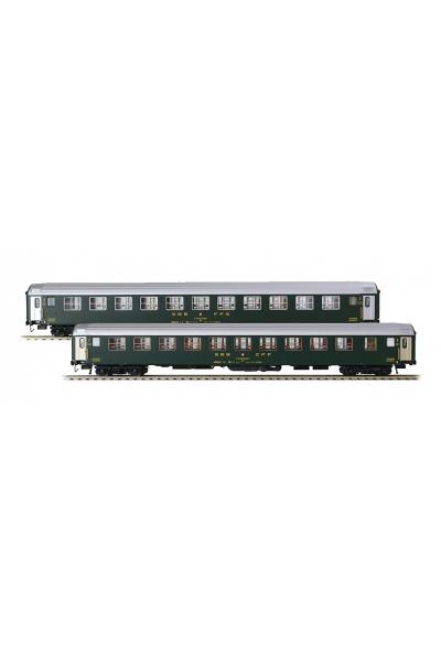 LSM 47328 Набор пассажирских вагонов Bcm SBB Epoche IV 1/87