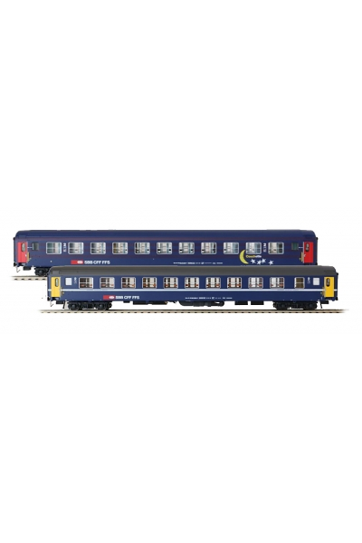 LSM 47333 Набор пассажирских вагонов Bcm Mond Sterne SBB Epoche IV-V 1/87