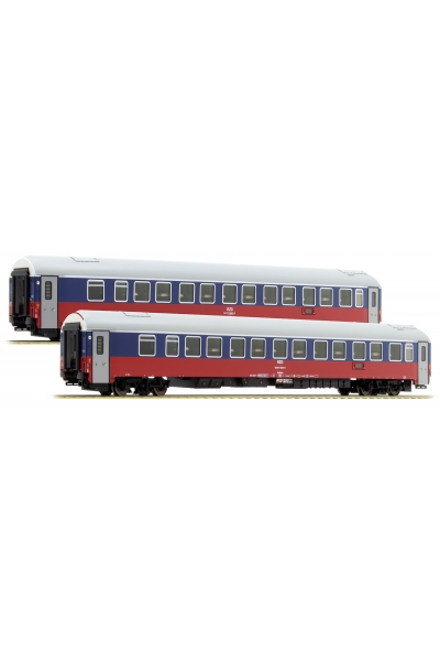 LSM 48011 Набор пассажирских вагонов WLABmee РЖД Epoche V 1/87