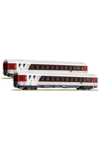 LSM 48013 Набор пассажирских вагонов WLABmee Waggonservice ex RZD Epoche VI 1/87
