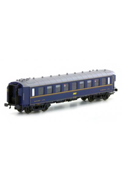 LSM 49125 Вагон пассажирский Typ WL F SNCF Epoche IV 1/87