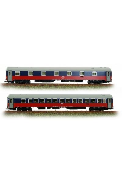 LSM 58010  Набор пассажирских вагонов WLABmee РЖД 2004г Epoche V 1/120
