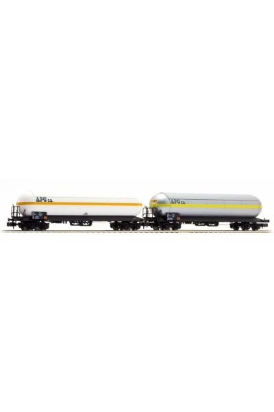 LSM 60130 Набор вагонов Uas 2шт APC Sati + APC SNCF Epoche IV 1/160