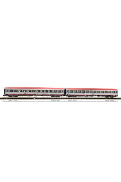 LSM 77050 Набор вагонов Bcmz 59-90 OBB Epoche VI 1/160