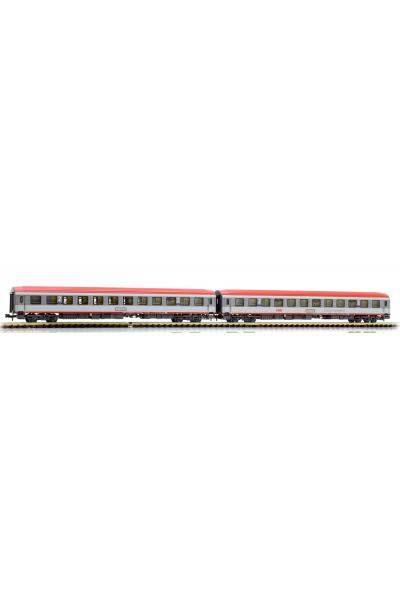 LSM 77061 Набор вагонов Bcmz 59-90 OBB Epoche VI 1/160