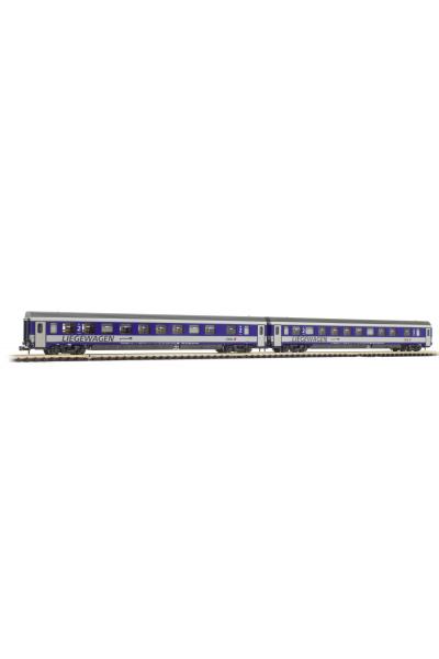 LSM 77150 Набор вагонов Bcmz 59-91.2 OBB Epoche V 1/160