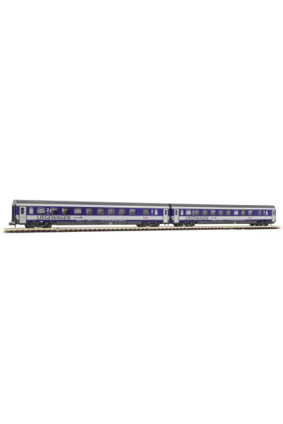 LSM 77151 Набор вагонов Bcmz 59-91.2 OBB Epoche V 1/160