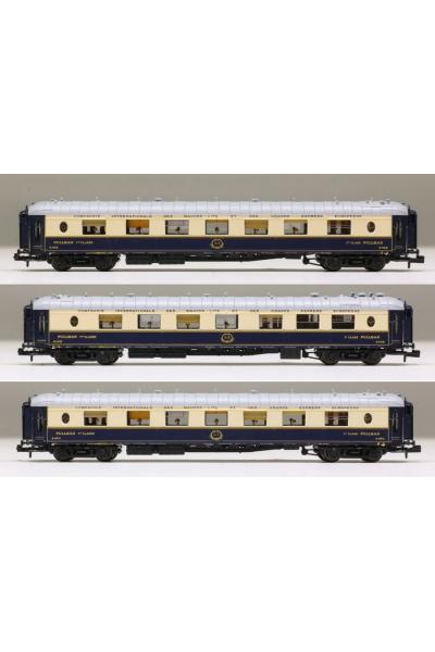 LSM 79170 Набор вагонов Cote d'Azur CIWL Epoche II 1/160
