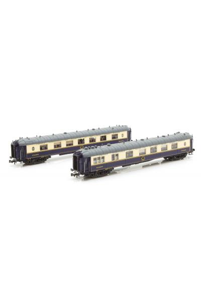 LSM 79178 Набор пассажирских вагонов WP/WPc CIWL Epoche III-IV 1/160