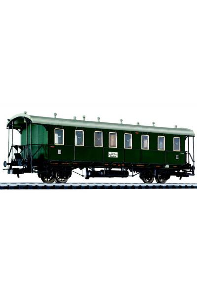 Liliput 334007 Вагон пассажирский 3кл Baden Epoche I 1/87