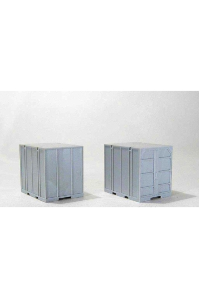 MM 10101 Контейнера УУК-5 2шт гражд.серый 1/87