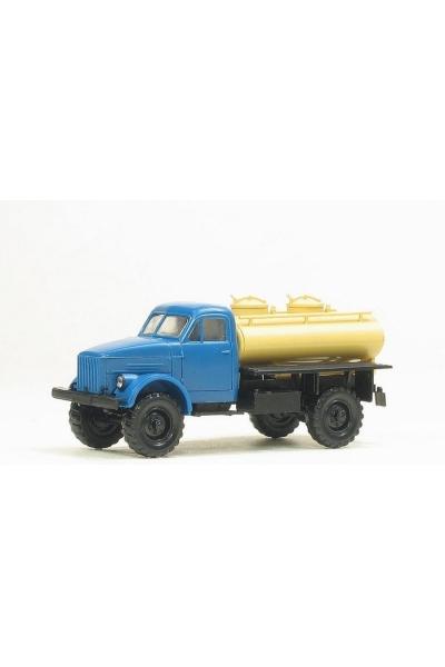 MM 36266 Автомобиль ГАЗ-63 АЦПТ-1,8 молоковоз кабина синяя 1/87