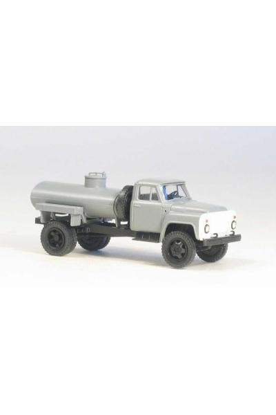 MM 36391 Автомобиль ГАЗ-52 -01 АТЗ-2,4 топливозаправщик гражд.кабина серая 1/87