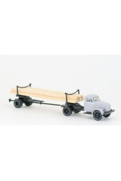 MM 39211 Автомобиль ГАЗ-51 + длинный роспуск 1Р3-6 кабина серая 1/87