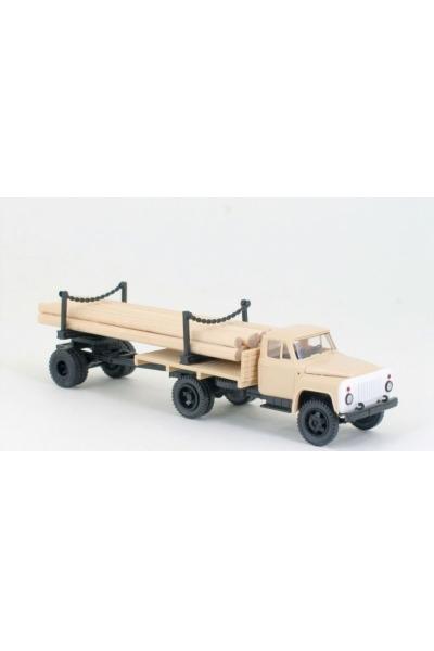 MM 39311 Автомобиль ГАЗ-52 + длинный роспуск 1Р3-6 кабина серая 1/87
