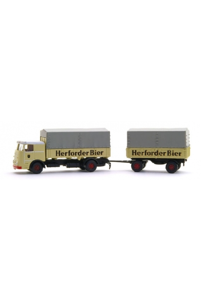 Minis 3610 Автомобиль Bussing LU 11-16 Herforder Pils HZ 1/160