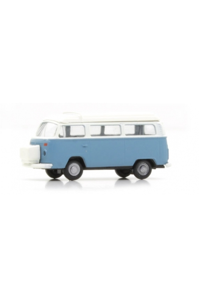 Minis 3838 Автомобиль VW Bus T2 blau Westfalia Camper 1/160