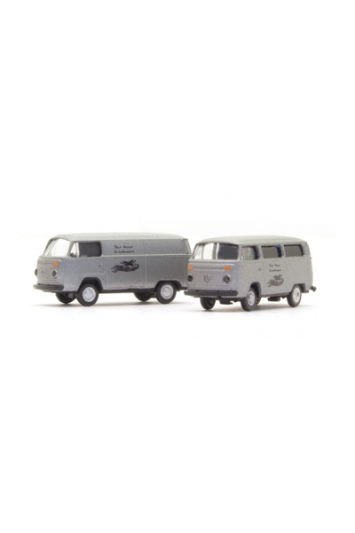 Minis 3865 Автомобиль VW Bus T2 2-tlg. Set Bestattungsfahrzeuge 1/160