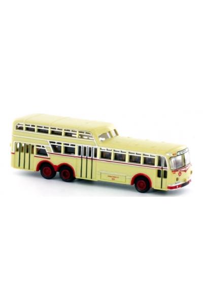 Minis 3904 Автобус Bussing 1 1/2 Decker Ludewig KVAG. 1/160