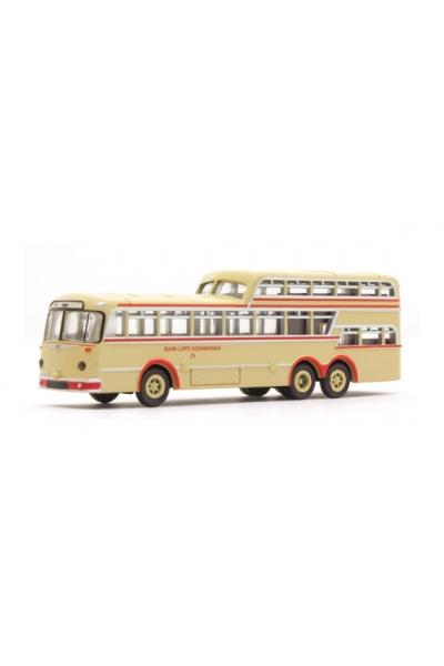 Minis 3911 Автобус Bussing 1 1/2 Decker Ruhr-Lippe Eisenbahnen 1/160